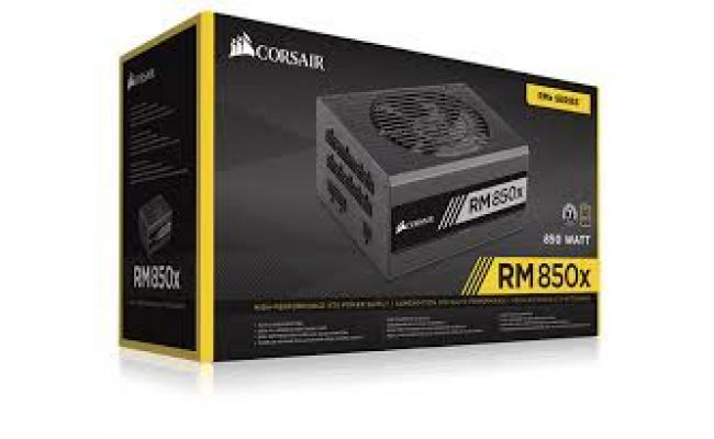 Corsair RMx Series™ RM850x — 850W 80 PLUS® Gold Certified Fully Modular PSU (UK)