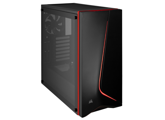 Corsair Carbide SPEC-06 Tempered Glass Case — Black