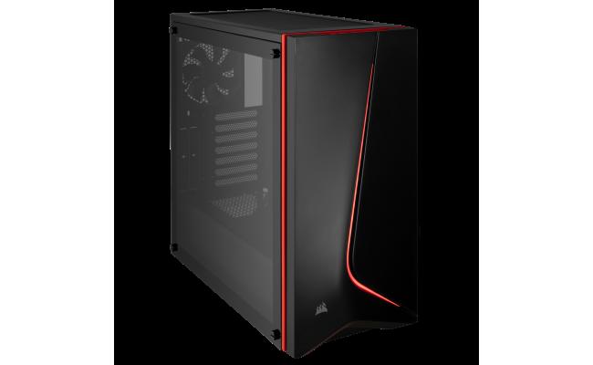 Corsair Carbide SPEC-06 Tempered Glass Case — Black
