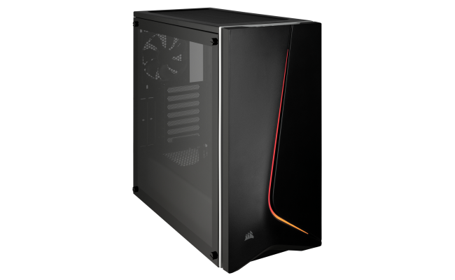 Corsair Carbide SPEC-06 RGB Tempered Glass Case — Black