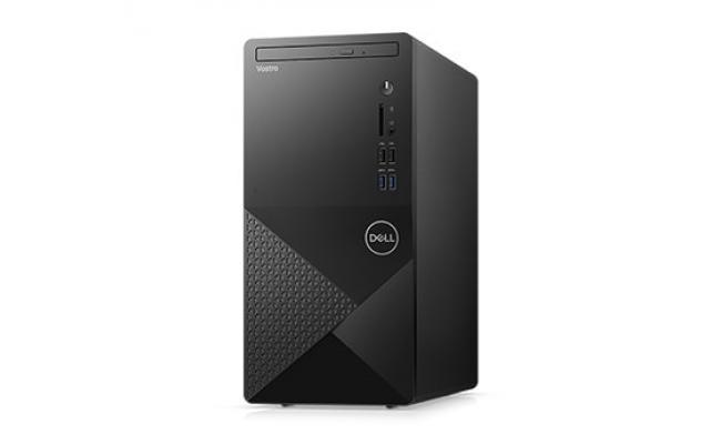 Dell Vostro 3888 Tower Business Desktop, 10th Gen Intel Core i3-10100, 4GB Memory, 1TB Hard Disk Drive,DVD, 802.11ac 1x1 Wi-Fi and Bluetooth, Black