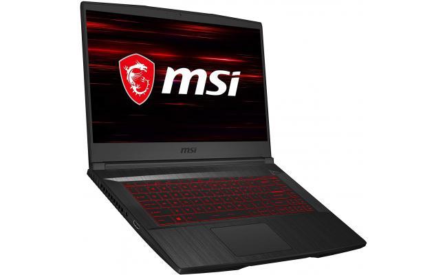 "MSI GF65 Thin 10SDR 15.6"" FHD (1920X 1080) 144Hz IPS Display, Intel Core i7-10750H, GTX 1660Ti, 8GB DDR4 Memory, 512GB PCIe NVMe SSD, Win 10 Home, Aluminum Black,  - Gaming Laptop"