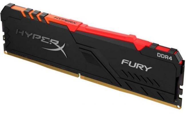 HyperX Fury 8GB DDR4 3600MHz RGB Desktop Memory