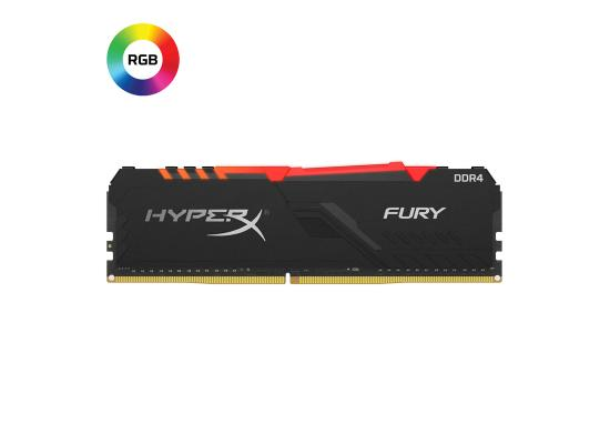 HYPER-X Fury 8GB RGB DDR4 3200MHz Black Desktop Memory
