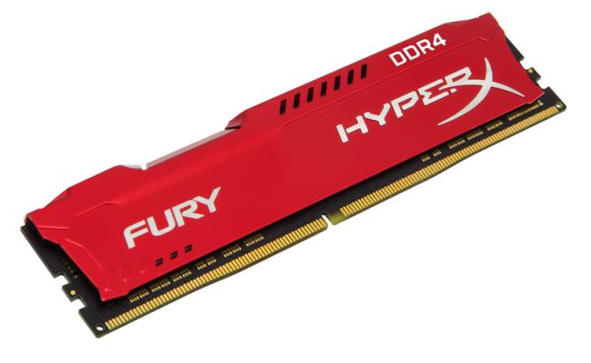 HYPER-X Fury 8GB DDR4 2666MHz Red Desktop Memory