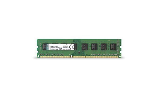 Kingston 4GB DDR3-1600Mhz UDIMM Desktop Memory