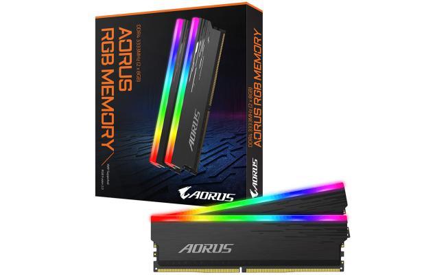 GIGABYTE AORUS RGB Memory DDR4 16GB (2x8GB) 3333MHz