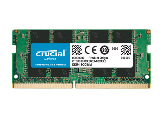 Crucial 8GB DDR4-2666Mhz SODIMM Notebook Memory