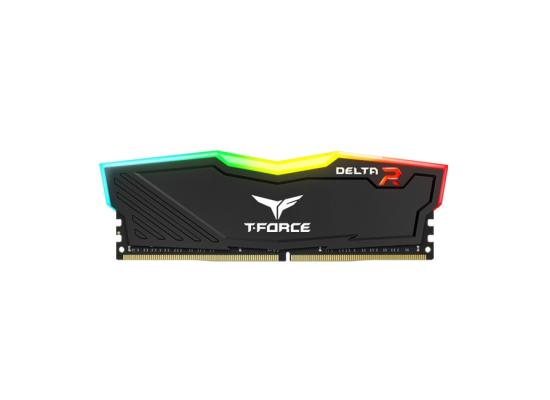 TEAMGROUP T-Force Delta RGB Single 16GB 3200MHz CL16 DDR4 Desktop Memory - Black