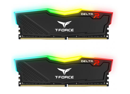 TEAMGROUP T-Force Delta RGB 16GB Kit (2x8GB) 3600MHz CL18 DDR4 Desktop Memory - Black