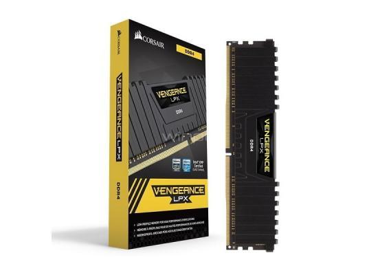 Corsair VENGEANCE® LPX 16GB (2 x 8GB) DDR4 DRAM 3200MHz C16 Memory Kit - Black