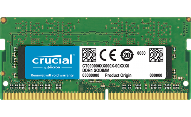Crucial 8GB DDR4-2400Mhz SODIMM Notebook Memory
