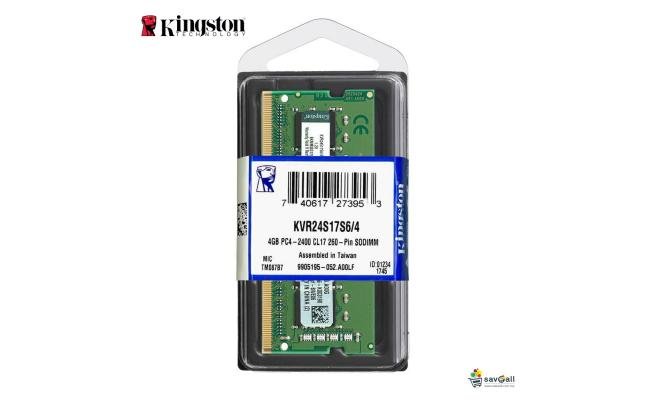 Kingston 8GB DDR4-2400Mhz SODIMM Notebook Memory