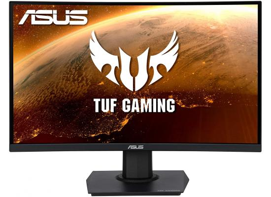 "ASUS TUF Gaming VG24VQE 23.6"" Full HD Curved 1500R, 165Hz, 1ms,VA Panel , FreeSync Premium Monitor"