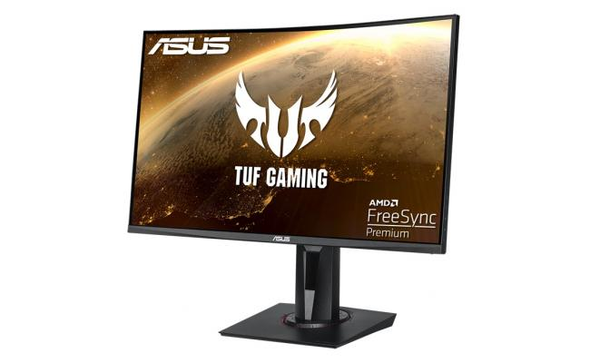 """ASUS TUF Gaming VG27VQ 27"""" Full HD Curved 1500R, 165Hz, 1ms,VA Panel , FreeSync Premium Monitor, With Speakers"""