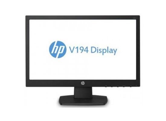 "HP V194 18.5"" LED BACKLIT VGA HD (1366 X 768) TN MONITOR"