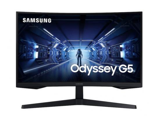 "Samsung 27"" G5 Odyssey 144Hz 1Ms 2K HDR 600 With 1000R Curved Screen Gaming Monitor"