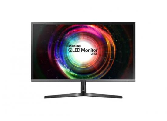 "Samsung LU28H750 28"" 4k UHD QLED PBP Dual-Screen Function Monitor"