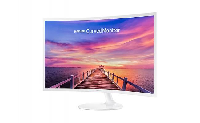 "Samsung LC32F391 32"" Curved LED Monitor"