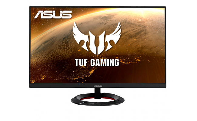 ASUS TUF Gaming VG249Q1R Monitor –23.8 inch Full HD (1920x1080), IPS, Overclockable 165Hz, FreeSync™ Premium, 1ms (MPRT), With Speakers