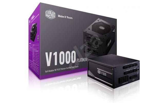 Cooler Master V1000 PLATINUM 1000w FULL-MODULAR 80 PLUS Power Supply