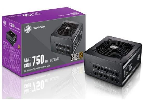 Cooler Master MWE750 v2 Full Modular 80+ Gold Certified 750W Power Supply
