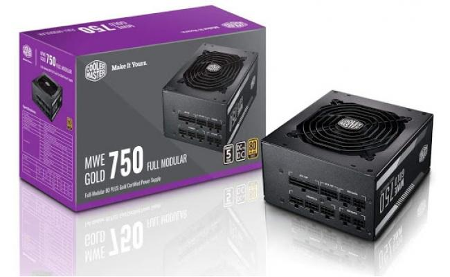 Cooler Master MWE750 v2 Full Modular 80+ Gold Certified 750W Power Supply