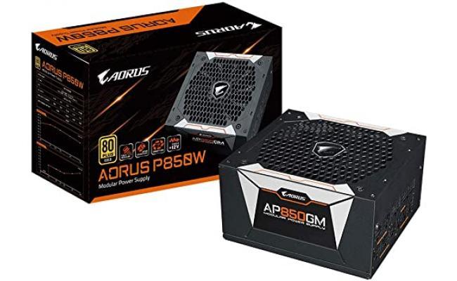 Gigabyte AORUS P850 GOLD 850W 80+ Full Modular Power Supply