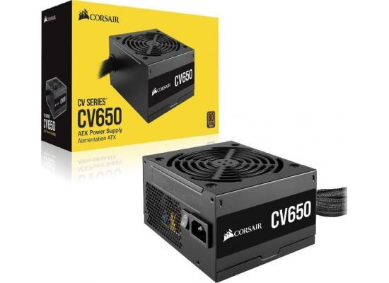 CORSAIR CV Series CV650, 650W ATX12V 80 PLUS BRONZE Certified Power Supply