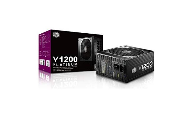 Cooler Master V1200  1200w 80 PLUS Platinum certified power supply