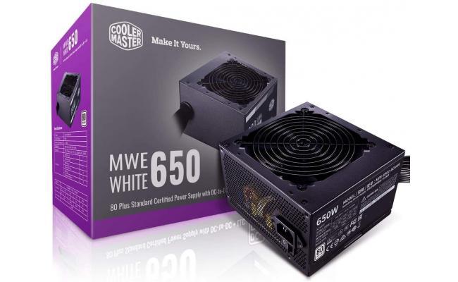 Cooler Master 650W MWE 650 WHITE 230V 80+ Power Supply