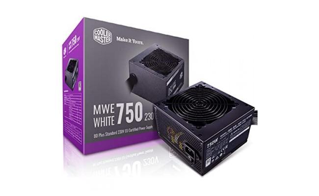 Cooler Master MWE 750 750w 80 PLUS White 80+ certification Power Supply