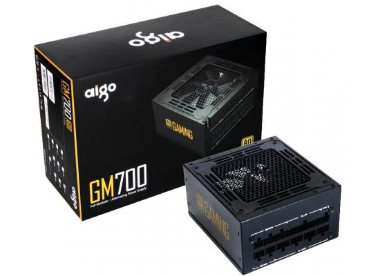 Aigo GM700, 700W, 80 Plus Gold, Fully Modular ATX Power Supply, 14cm Hydraulic Bearing PWM Fan