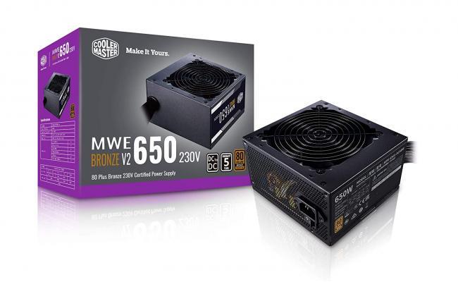 Cooler Master MWE 650 650w Bronze V2 80 PLUS MasterWatt Lite  Power Supply