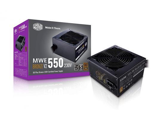 Cooler Master MWE 550  550w Bronze V2 80 PLUS MasterWatt Lite Power Supply
