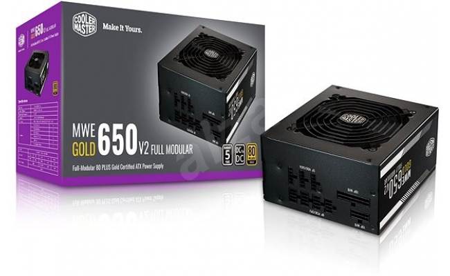 Cooler Master MWE650 650w Gold v2 Full Modular 80+ Certified Power Supply