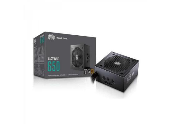 Cooler Master MWE 650 650w 80 PLUS MasterWatt Lite bronze Power Supply