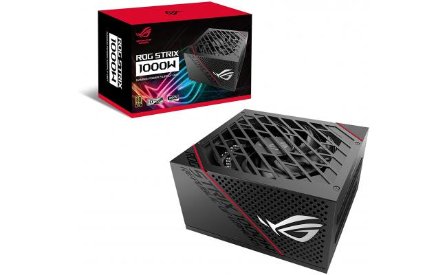 ASUS ROG Strix 1000W 80+ Gold Power Supply, Fully Modular Cables