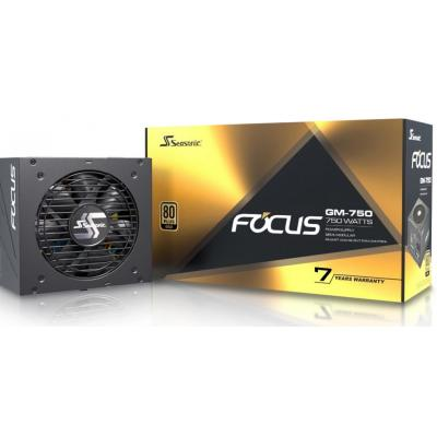 Seasonic FOCUS GM 750W 80 Plus Gold Semi-Modular Power Supply