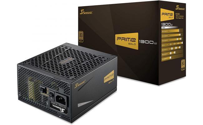 Seasonic PRIME 1300 Gold SSR-1300GD 1300W 80+ Gold ATX12V & EPS12V Full Modular 135mm FDB Fan Power On Self Tester Power Supply