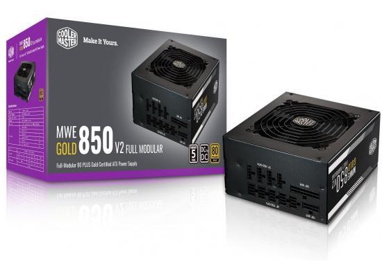 Cooler Master MWE 850 v2 Full Modular 80+ Gold Certified 850W Power Supply