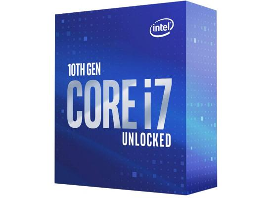 Intel® Core™ i7-10700k 8-core Up to 5.1Ghz 16MB