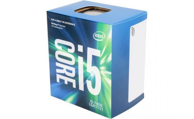 Intel Core i5-7400 Kapy Lake 4-Core (3.5 GHz Max Turbo)