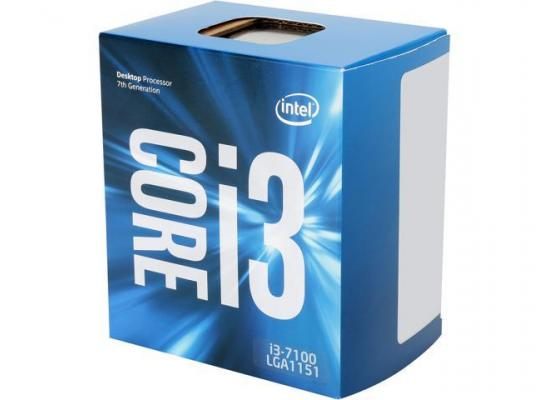 Intel Core i3-7100 Kapy Lake 2-Core 3.9 GHz