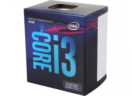 Intel Core i3-8100 Coffee Lake 4-Core 3.6 GHz