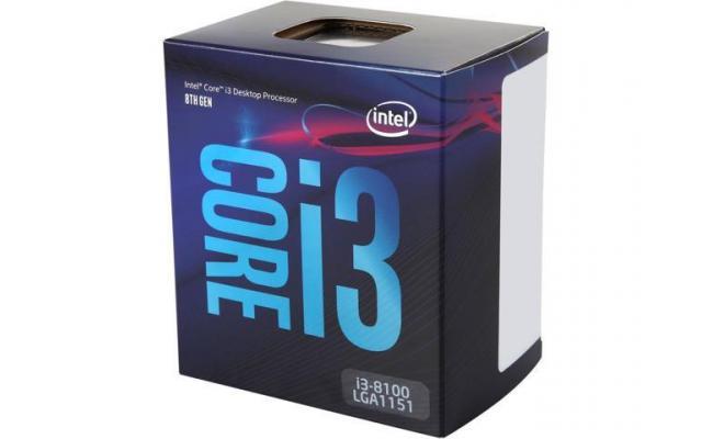 Intel Core i3-8100 Coffee Lake 4-Core 3.6 GHz