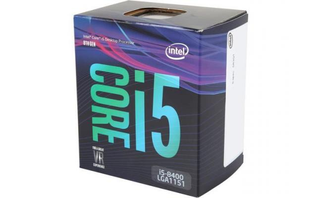 Intel Core i5-8400 Coffee Lake 6-Core (4.0 GHz Max Turbo)