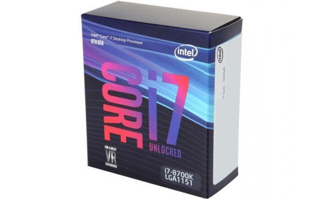 Intel Core i7-8700K Coffee Lake 6-Core (4.7 GHz Max Turbo)