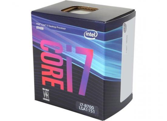 Intel Core i7-8700 Coffee Lake 6-Core (4.7 GHz Max Turbo)