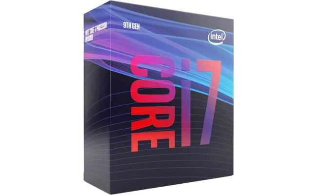 Intel Core i7-9700 Coffee Lake 8-Core (4.7 GHz Max Turbo)